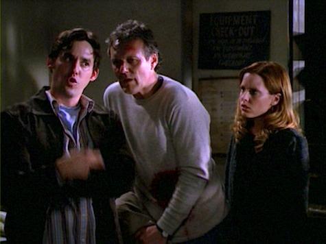Buffy the Vampire Slayer, Weight of the World, Xander, Giles, Anya