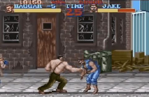 Final Fight for SNES