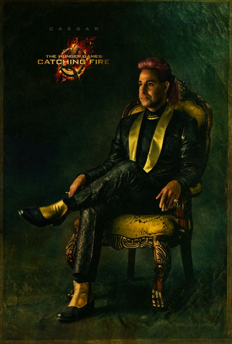 Capitol Portraits Caesar Flickerman Stanley Tucci Catching Fire