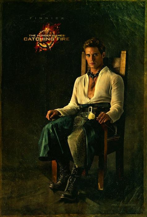 Capitol Portraits Finnick Odair Sam Claflin Catching Fire