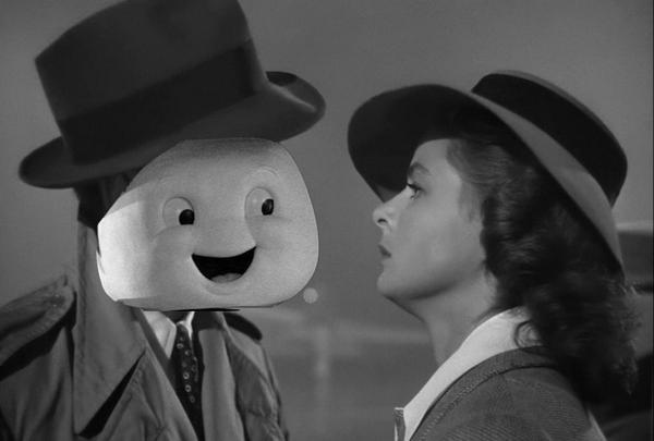 #AddAPuftRuinAMovie Stay Puft Marshmallow Man Ghostbusters best of Casablanca