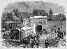 Crystal Palace Atmospheric Railway 1864