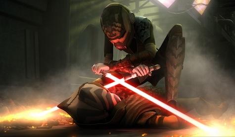 Star Wars The Clone Wars, To Catch A Jedi, Ahsoka, Barriss, Asajj