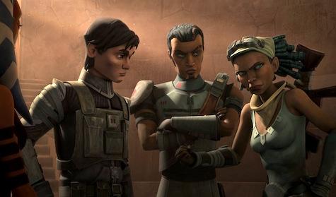 Star Wars The Clone Wars, The Soft War, Lux, Saw, Steela