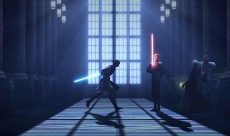 Star Wars: The Clone Wars, Anakin, Palpatine, Dooku