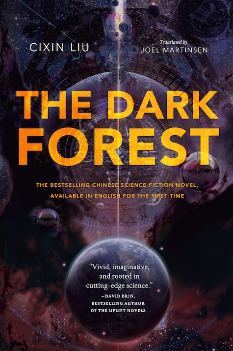The Dark Forest Cixin Liu cover