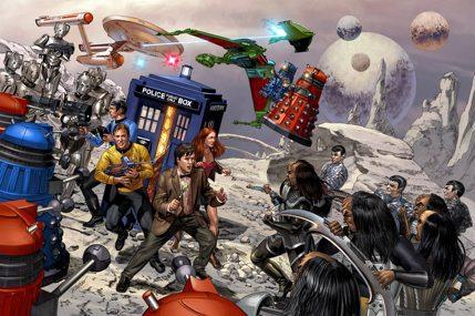 Doctor Who/Star Trek crossover by Rainer Beredo