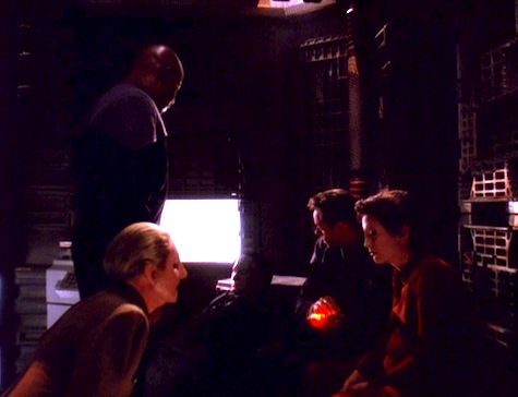 Deep Space Nine, The Darkness and the Light, Sisko, Kira, Odo, Prin, Bashir