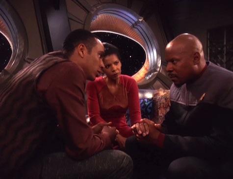 Deep Space Nine, Rapture, Sisko, Jake, Yates