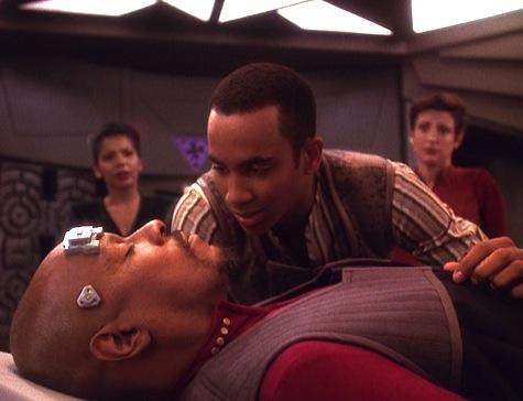 Deep Space Nine, Rapture, Sisko, Jake