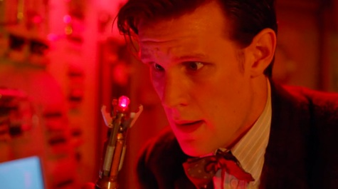 Doctor Who, Cold War, red setting screwdriver