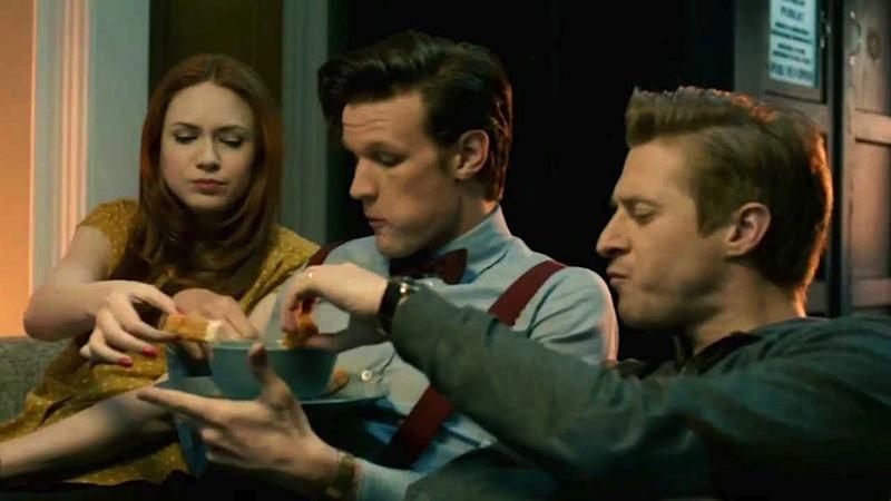 Doctor Who, Eleven, Matt Smith, Amy Pond, Rory Pond