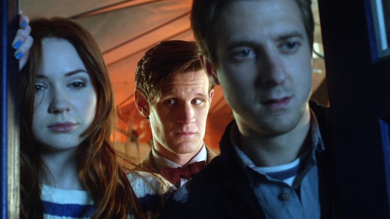 Doctor Who, Eleven, Matt Smith, Amy and Rory Pond