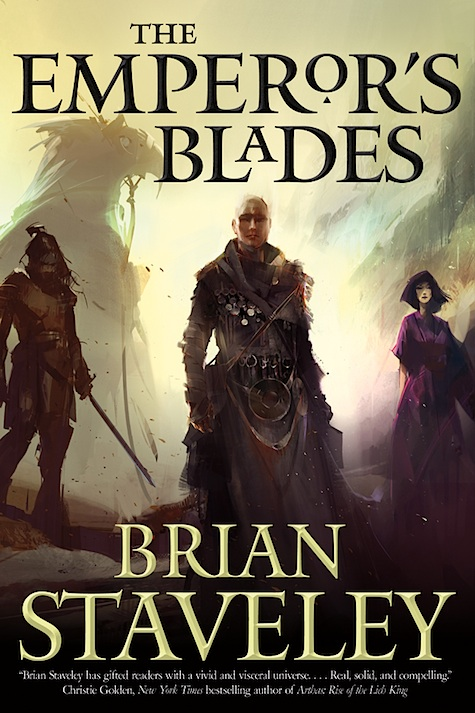 The Emperor's Blades Cover Reveal Brian Staveley