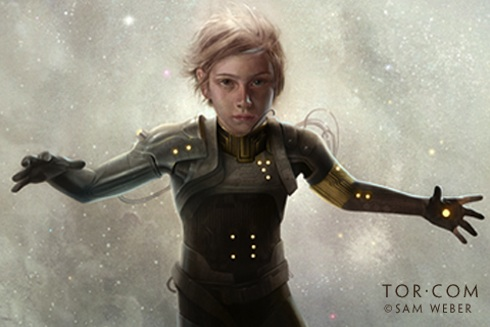 Ender's Game ebook art by Sam Weber