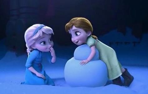 Frozen Anna Elsa children