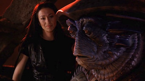 Farscape, Natural Election, Pilot, Aeryn