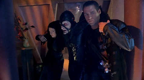 Farscape, We're So Screwed, Hot to Katratzi, Scorpius, Crichton, Aeryn