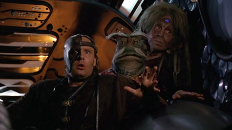 Farscape, We're So Screwed III: La Bomba, Stark, Noranti, Rygel