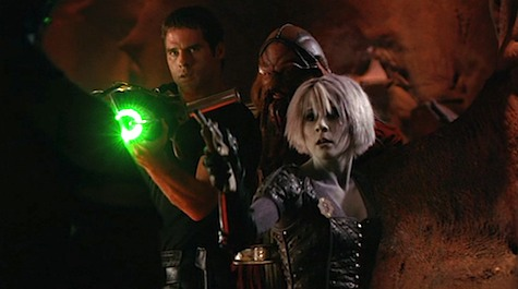 Farscape, Lava's A Many Splendored Thing, Crichton, Chiana, D'Argo