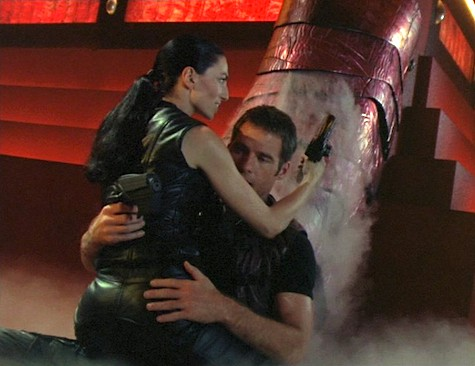 Farscape, Meltdown, Crichton, Aeryn