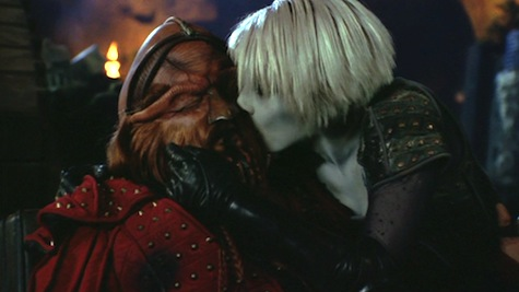 Farscape: The Peacekeeper Wars, D'Argo, Chiana