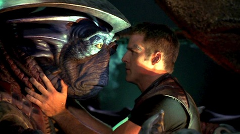 Farscape: The Peacekeeper Wars, Crichton, Pilot