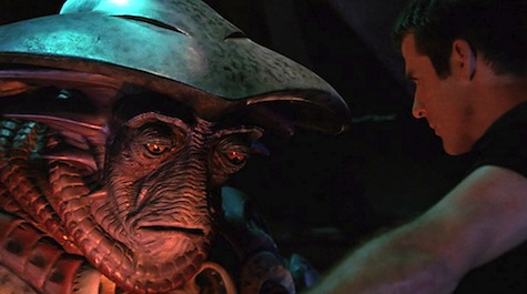 Farscape, I Shrink, Therefore I Am, Crichton, Pilot