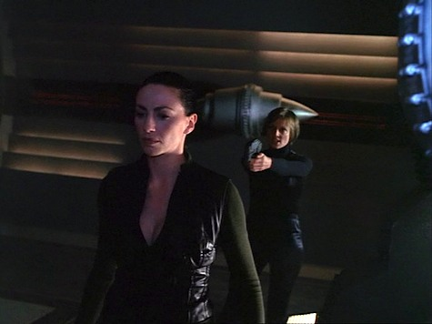 Farscape Into the Lion's Den II Wolf in Sheep's Clothing Aeryn Henta