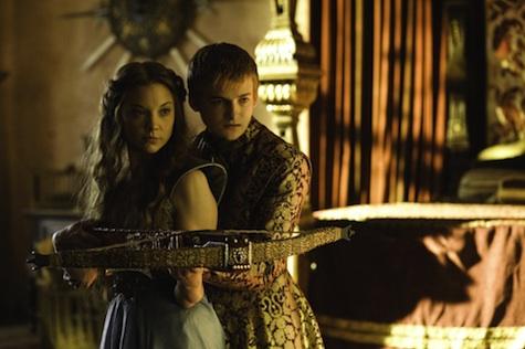 Game of Thrones season 3 Joffrey Baratheon and Margaery Tyrell