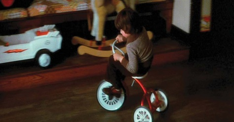 The Omen, Damien, tricycle