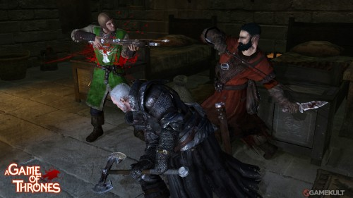 A Game of Thrones, the videogame
