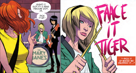 Image result for spider gwen music band