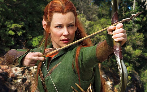 The Hobbit: The Desolation of Smaug, Tauriel, Evangeline Lilly