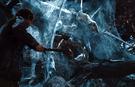 The Hobbit: The Desolation of Smaug, Bilbo, Spiders