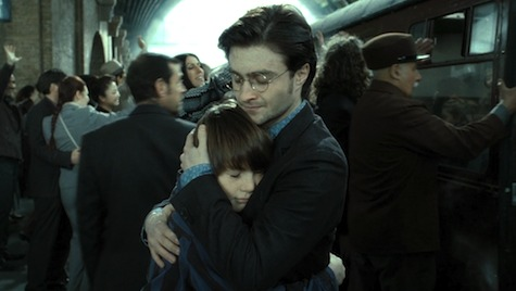 Albus Harry Potter Deathly Hallows epilogue Harry Potter