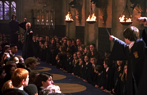 Harry Potter and the Chamber of Secrets film, Harry, Draco