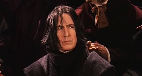 Harry Potter and the Philosopher's Stone, Snape, Alan Rickman