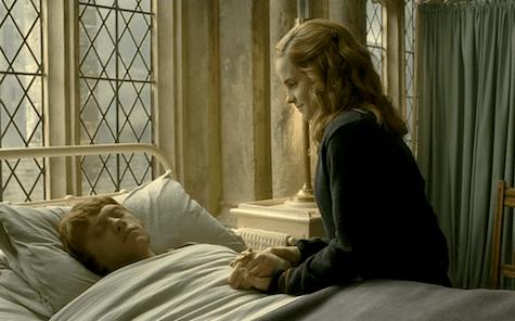 Ron Weasley, Hermione Granger