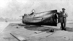 Hunley Submarine