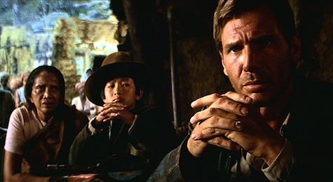 indiana jones Harrison Ford, temple of doom short round