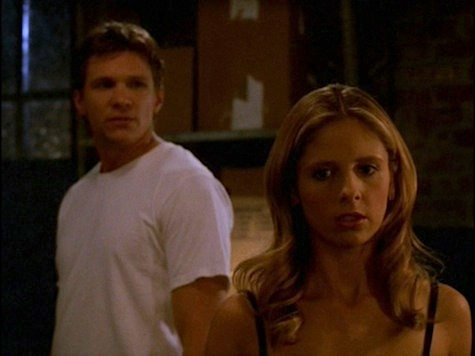 Buffy the Vampire Slayer rewatch Into the Woods Riley break-up