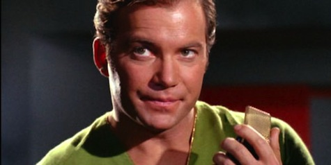 Captain Kirk, communicator