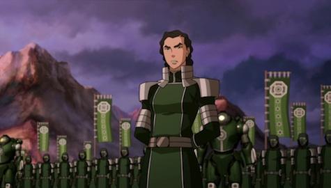 Avatar Legend of Korra Battle of Zaofu