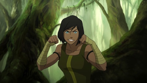 Legend of Korra The Coronation