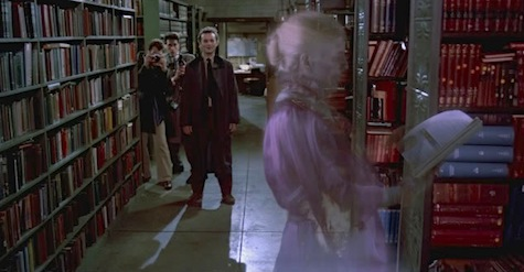 Ghostbusters Library The Grey Lady librarian