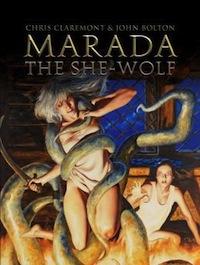 Marada the She-Wolf Book Cover