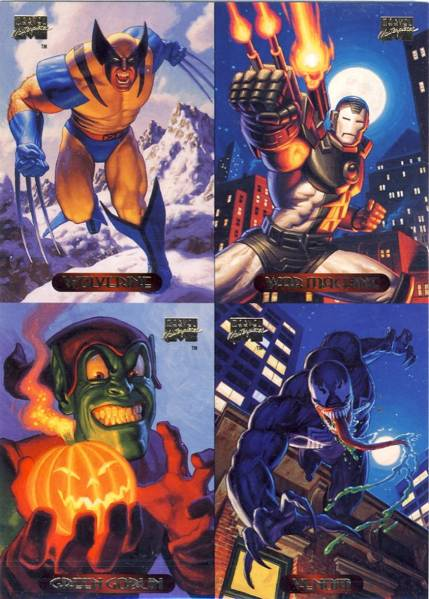Marvel Masterpieces series 3