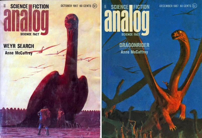 Anne McCaffrey Pern dragon John Schoenherr Analog cover