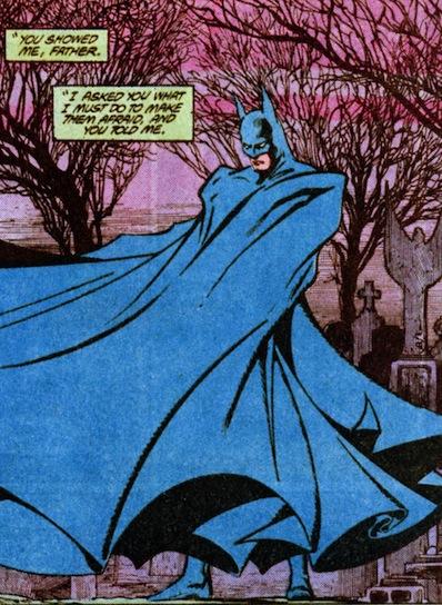Batman cape Todd McFarlane